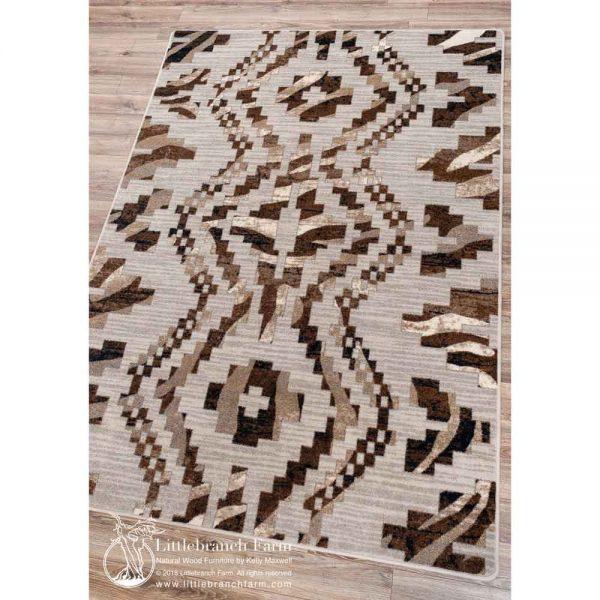 Modern area rug design.