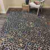 Spotteed Leopard rug