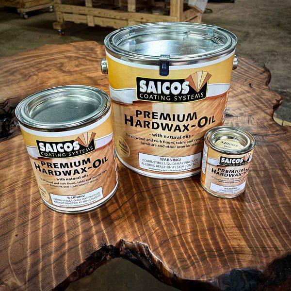 Saicos premium hardwax oil finish.