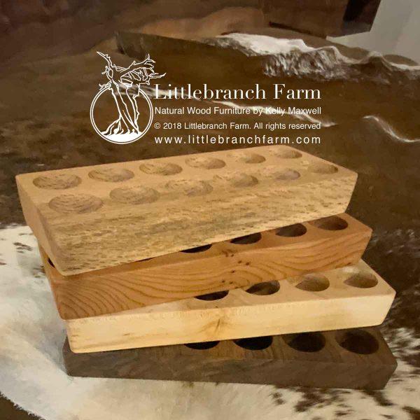 Fresh egg storage trays.