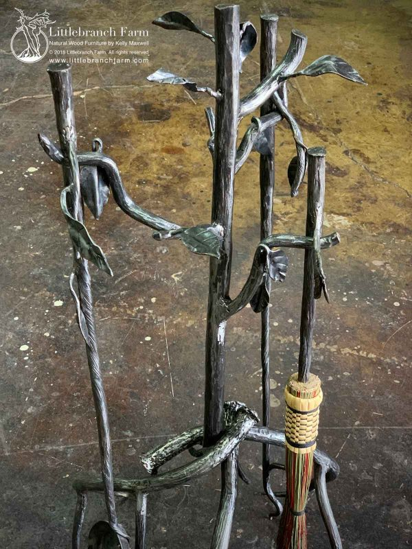 Metal tree branches